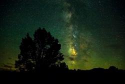 Night Sky Over Shermans Pass