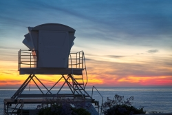 Lifeguard Tower La Jolla