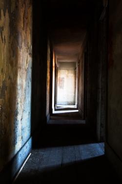 Empty Hallway Los Angeles