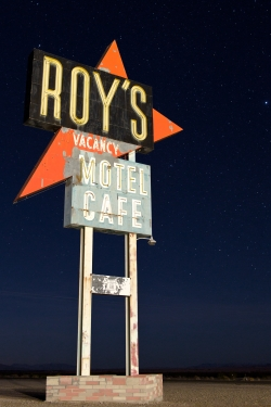 Roys Cafe Sign Route 66