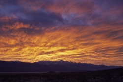 Sunrise Death Valley Panamint Springs