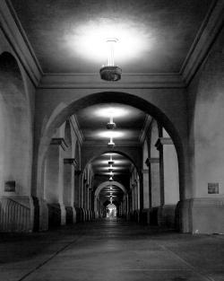 Arch Hallway